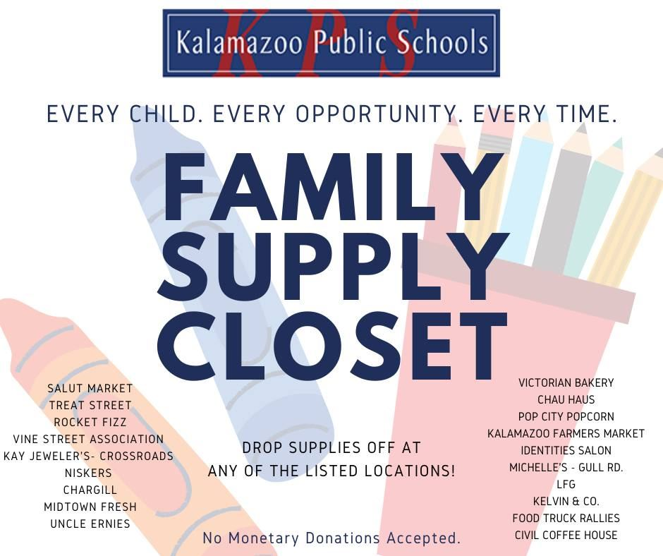 KPS Family Supply Closet