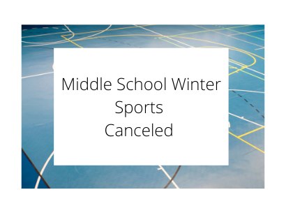 Middle schools sports canceled