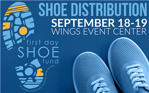 First Day Shoe Fund flyer
